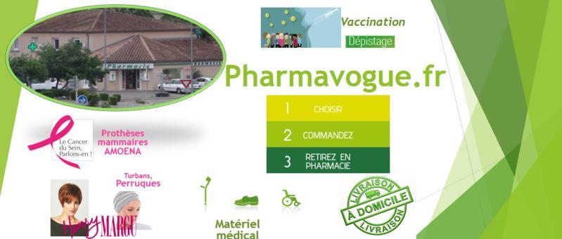Pharmacie Alzas,VOGÜÉ